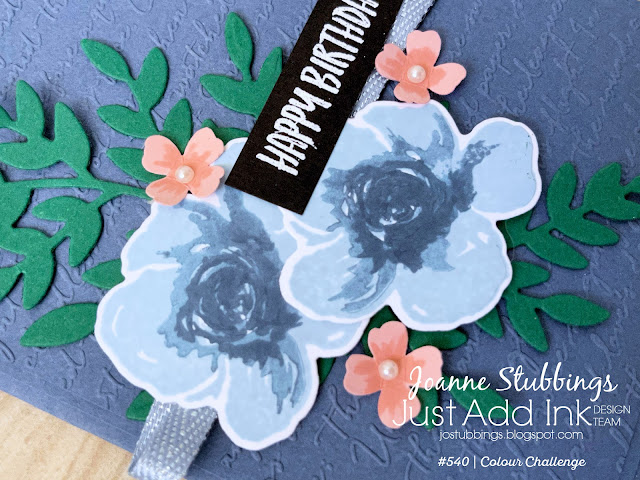 Jo's Stamping Spot - Just Add Ink Challenge #540 Birthday card using All Things Fabulous by Stampin' Up!