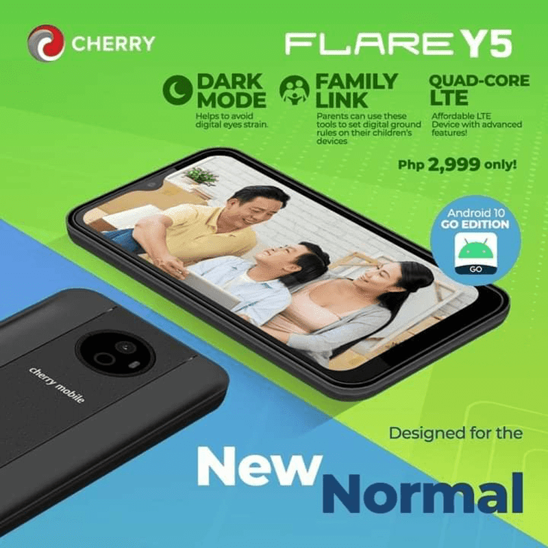 Cherry Mobile Flare Y5 with 2GB RAM, LTE, and Android (Go edition) now official, priced at PHP 2,999