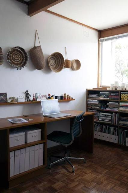 ruang kerja etnik