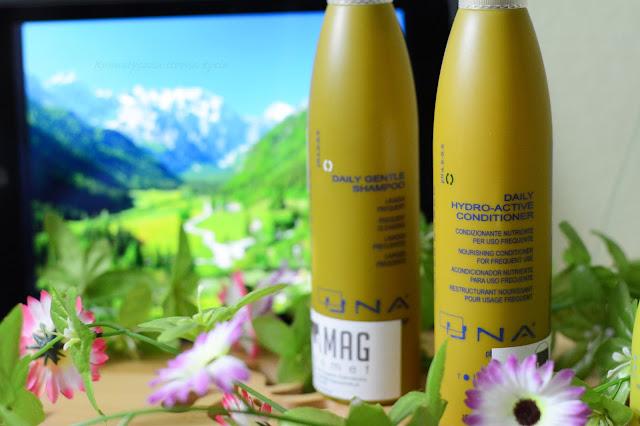 Rolland una odżywka nawadniająca hydro active, szampon do codziennego stosowania