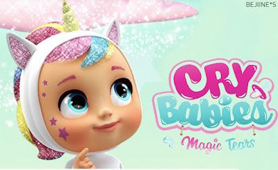 IMC TOYS présente les Poupées Cry Babies Magic Tears