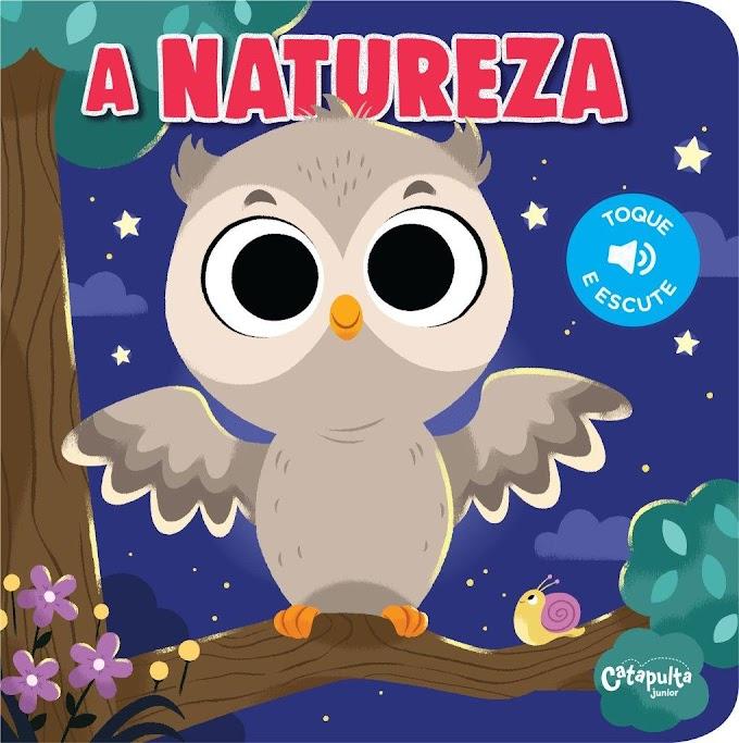 Livro com com sons da natureza é lançamento para bebês