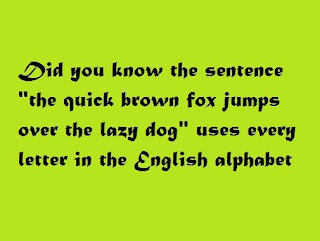 Clever Pangrams For Better Writing And Typing