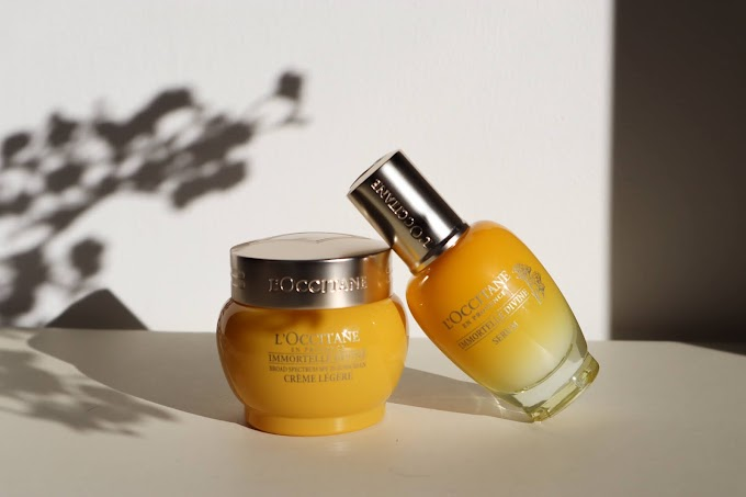 L'occitane immortelle anti-ageing range*
