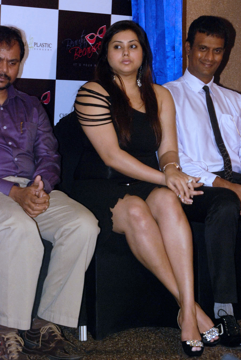 Namitha Kapoor At Beauty Because Club Innauguration In Chennei
