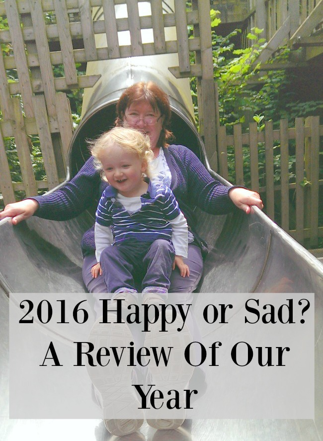 2016-happy-or-sad-a-review-of-our-year-text-over-image-of-woman-and-toddler-laughing-on-slide