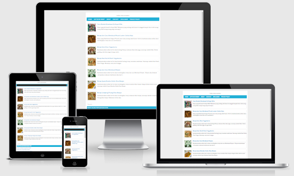 Redesign Adsense G2 Responsive Blogger Template