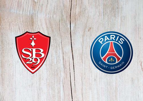 Brest vs PSG -Highlights 23 May 2021