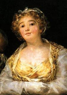 Goya, Maja y celestina (detalle)