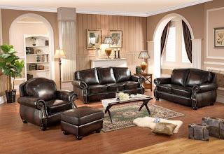 Sofa Set Elegan Kayu Jati