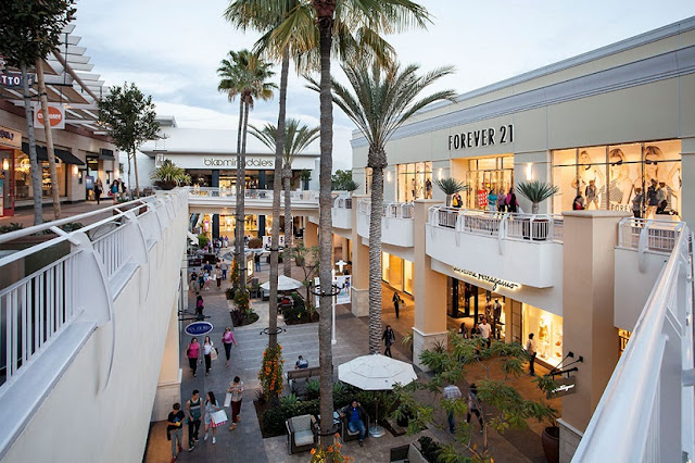Loja da Apple no Fashion Valley Mall em San Diego na Califórnia