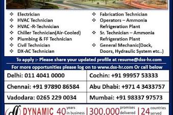 Vacancy for Kuwait