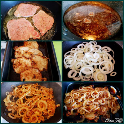 maailman parhaat sipulipihvit, sipulipihvit, porsaan ohutleike, porsaan ohutleike lidl, Bergmann porsaan ohutleike, porsaan ohutleike resepti