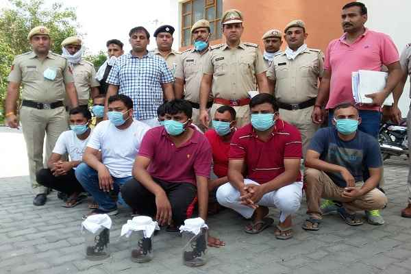 inspector-anil-chhillar-arrested-satpal-rathi-8-accused-in-panipat