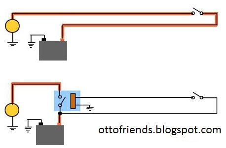 Cara memasang relay untuk klakson dan lampu tambahan revised banyak jenis relay yang terdapat ccuart Images