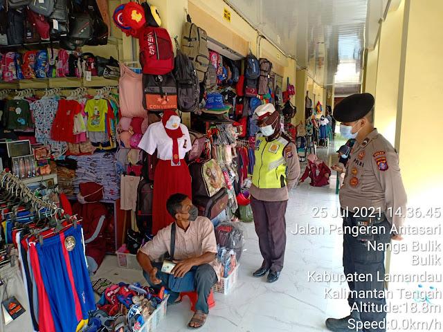 Polres Lamandau dan instansi terkait laksanakan Ops Yustisi di kota Nanga Bulik