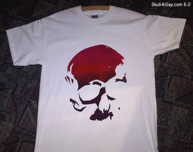 Spray Paint Shirt Designs