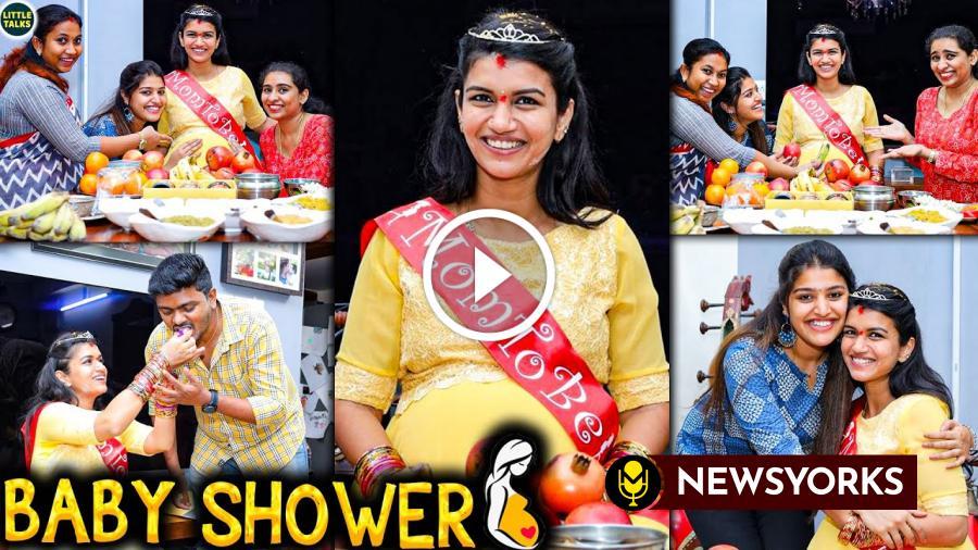 நடிகை ஸ்ரீதேவி வீட்டில் SURPRISE ஆக வளைகாப்பு நடத்திய ஸ்ரேயா !!