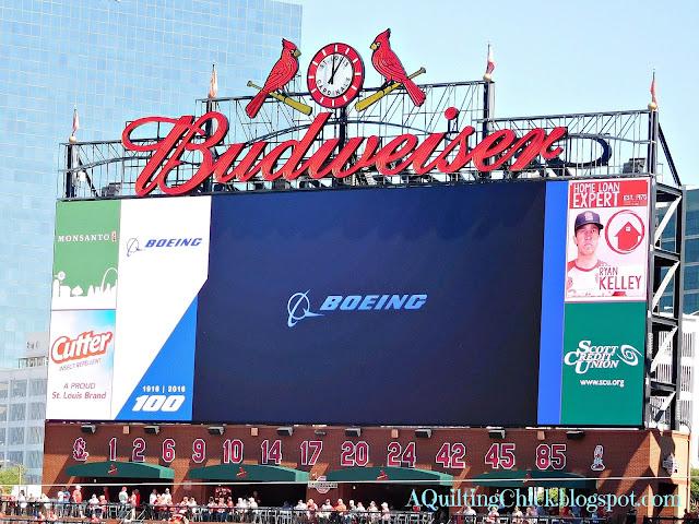 A Quilting Chick - Cardinals Scoreboard