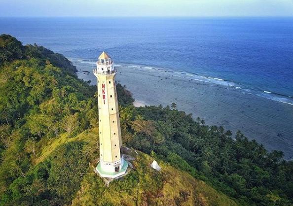 View Alam Pulau Miangas Kabupaten Talaud, Pulau Ujung Utara Indonesia