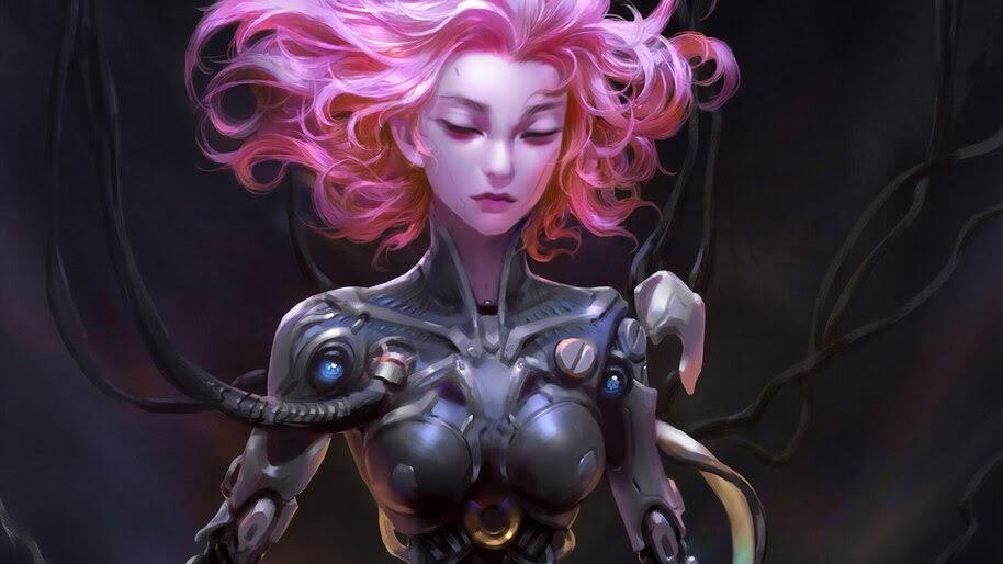 Sci-Fi, Girl, 4K, #4.1052