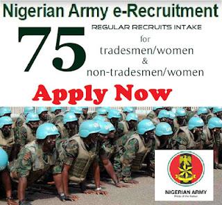 Nigerian Army Recruitment Form 2017/2018 - Nigerian Army Recruitment Form Closing Date 2017