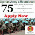 Nigerian Army Recruitment Form 2017/2018 - Nigerian Army Recruitment Form Closing Date 2017