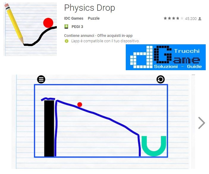 Soluzioni Physics Drop livello 21 22 23 24 25 26 27 28 29 30 | Trucchi e Walkthrough level