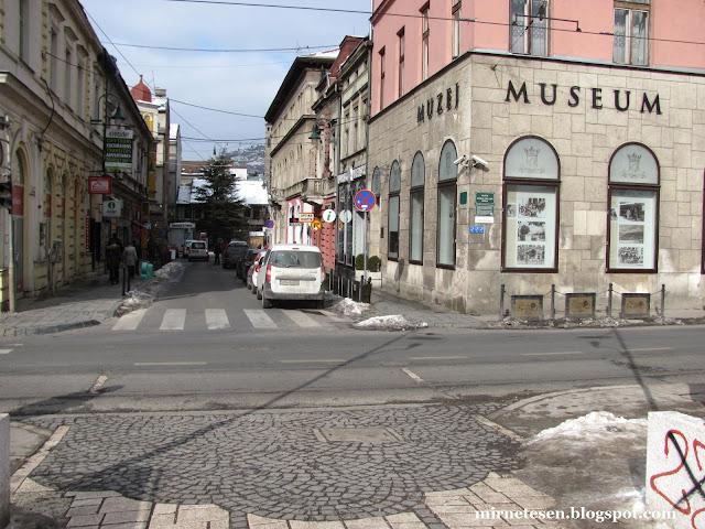 Сараево - место, с которого Гаврило Принцип выстрелил во Франца Фердинанда
