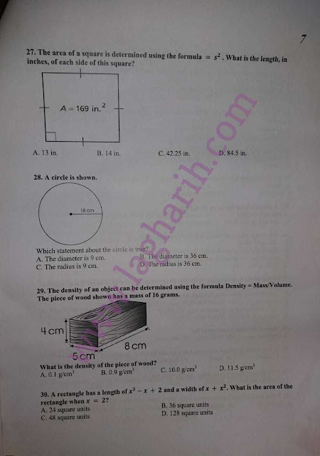 TODAY JEST STS TEST QUESTION PAPER IBA SUKKUR