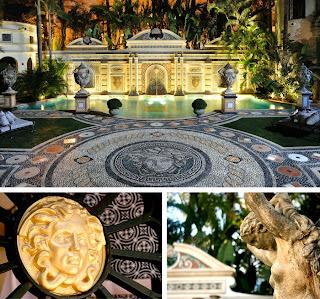 El palacio de Gianni Versace