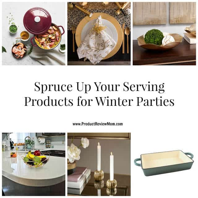 Spruce Up Your Serving Products for Winter Parties  via  www.productreviewmom.com