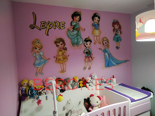Mural princesas