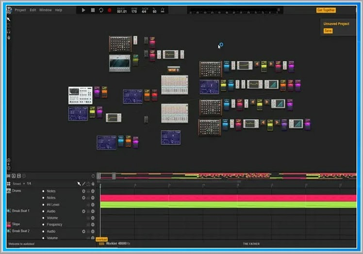 Burnstudios Audiotool : Συνθέστε τα δικά σας μουσικά κομμάτια