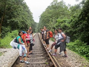 Never meeting parallel railway trek, Dudhsagar water falls trekking