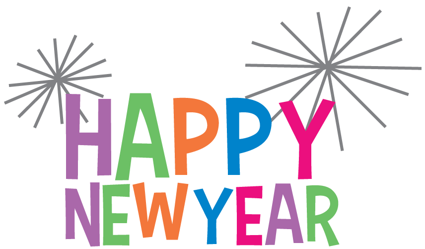 Happy New Year 2016 Clip Art Images 3D