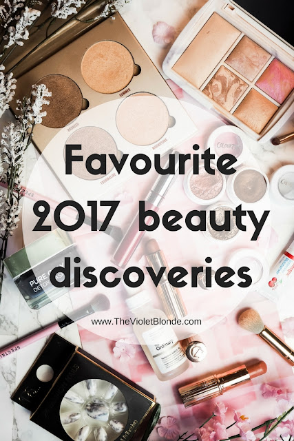 Favourite 2017 beauty discoveries