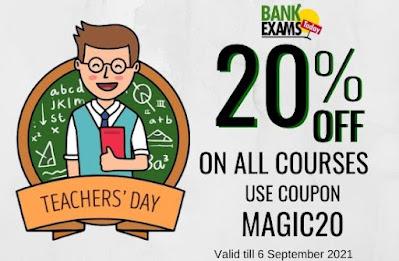 Teacher's Day Offer on BankExamsToday