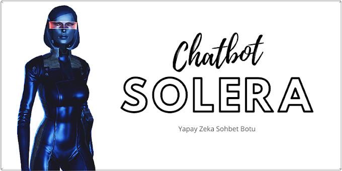 Solera - Yapay Zeka Sohbet Botu