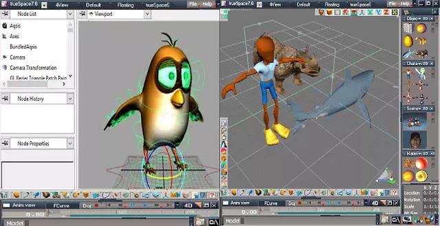 Software Untuk Membuat Animasi 3D Gratis Terbaik