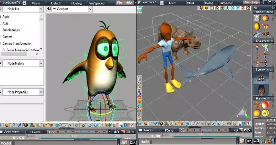 Software Untuk Membuat Animasi 3d Gratis Terbaik Brankaspedia Blog Tutorial Dan Tips