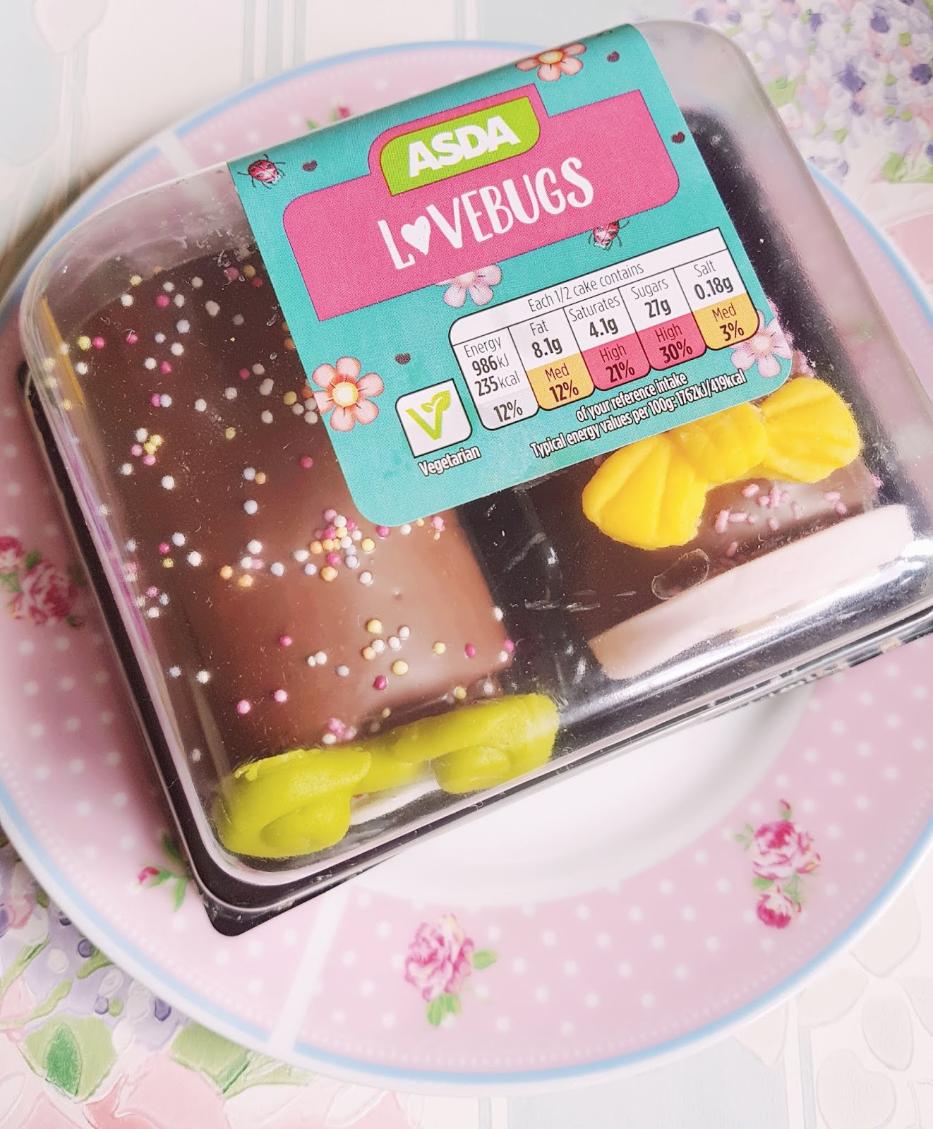Asda Lovebugs Cake Review Bows And Pearls Bloglovin
