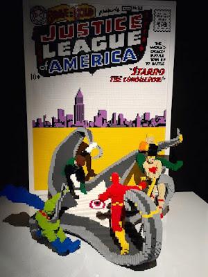 13D12N Australia Trip: The Art of the Brick DC Comics, Powerhouse Museum (Part 2)