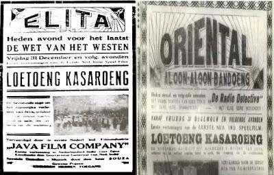 Film Film Tertua Di Indonesia