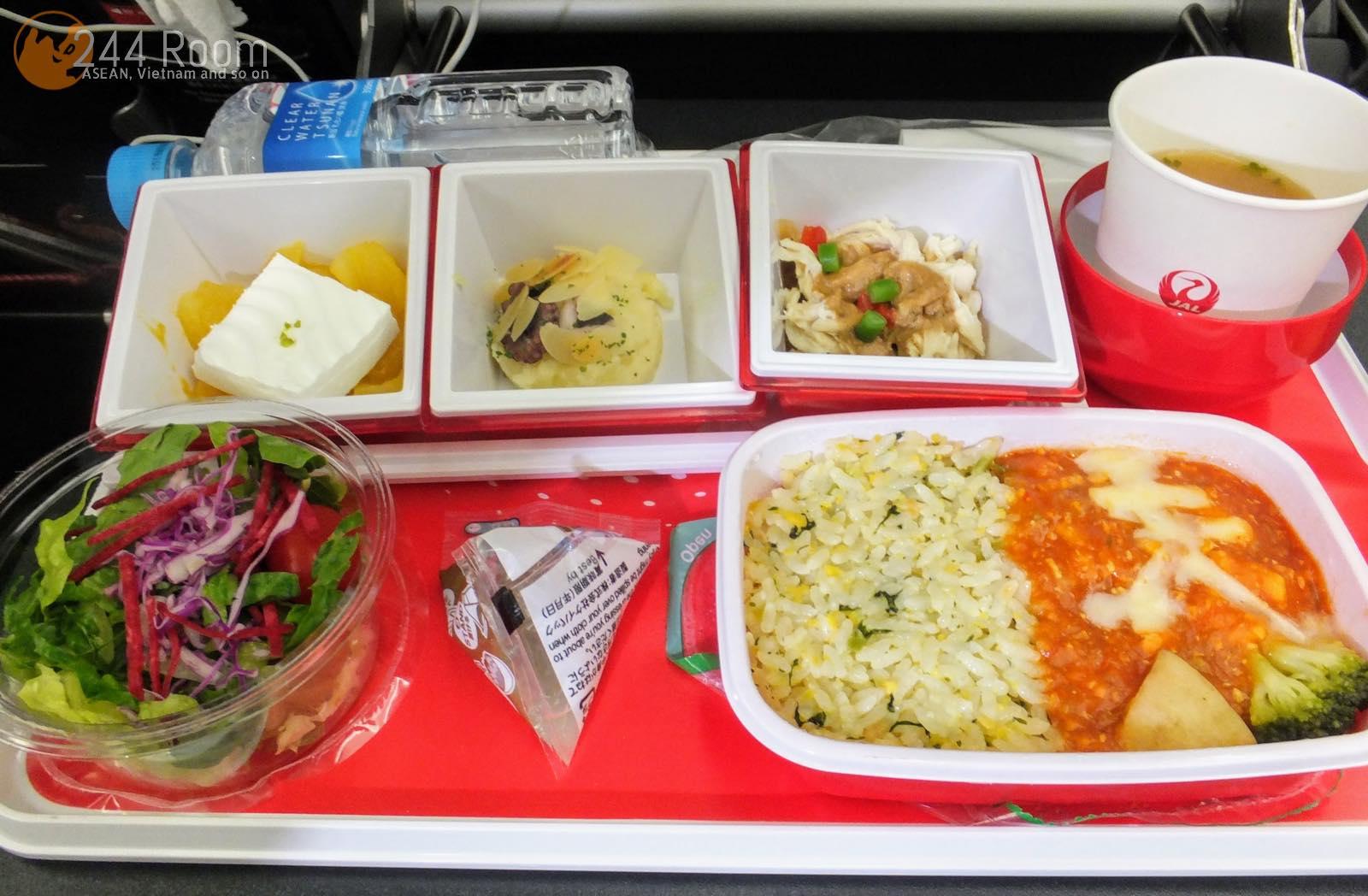 JAL U-35中華機内食 U-35 Flight meal2