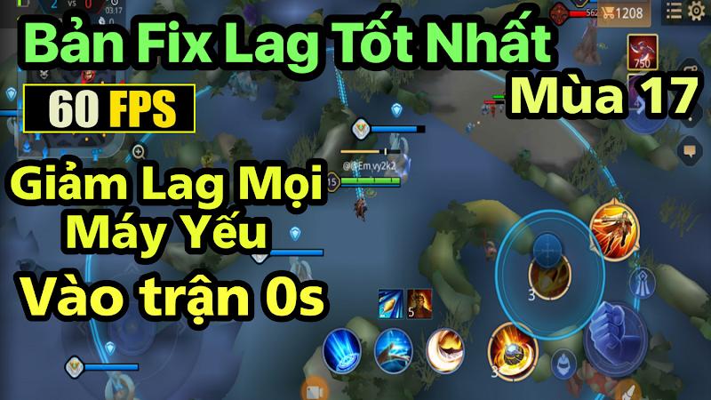 Fix Lag LQM s17 2021