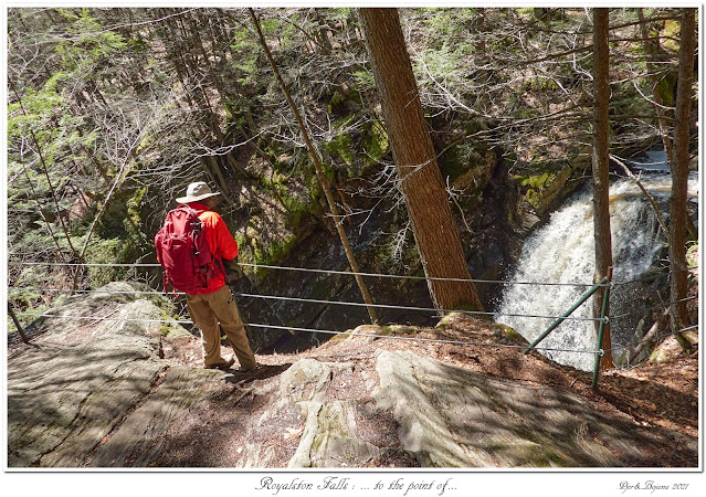 Royalston Falls: ... to the point of...