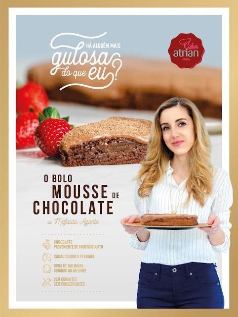 O Bolo Mousse de Chocolate