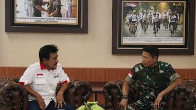 Pangdam XII/Tpr Terima Kunjungan IOF Kalbar