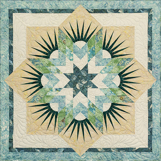 Twinkle Star Quilt by Judy and Bradley Niemeyer, The Tutorial by Carol Thelen of Quilt Notes